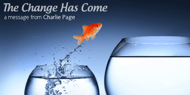 The Change Has Come by Charlie Page