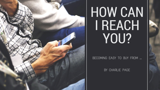 How Can I Reach You By Charlie Page