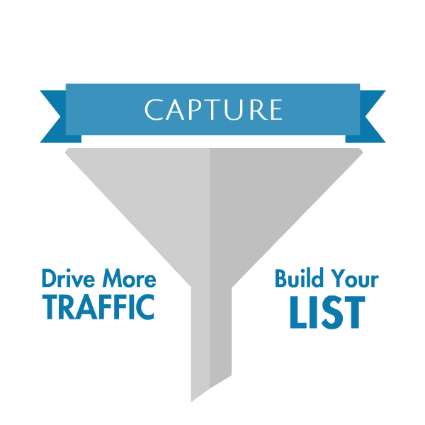 Drive traffic and build your list