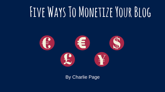 Monetize your blog the easy way